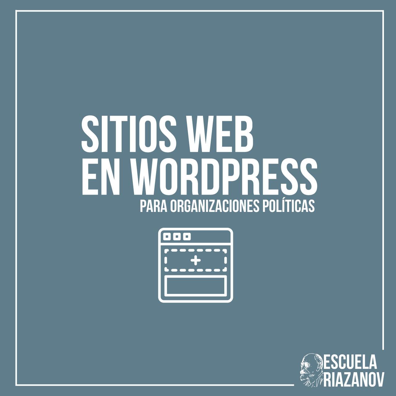 Sitios Web En WP para Organizaciones